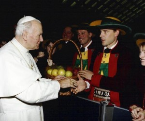 17 - Audienz bei Papst Johannes Paul II in Rom 1992